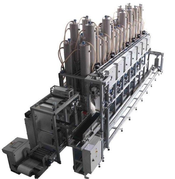LOGO_AUTOMATIC DOSING SYSTEM SAM for powders and granules;
