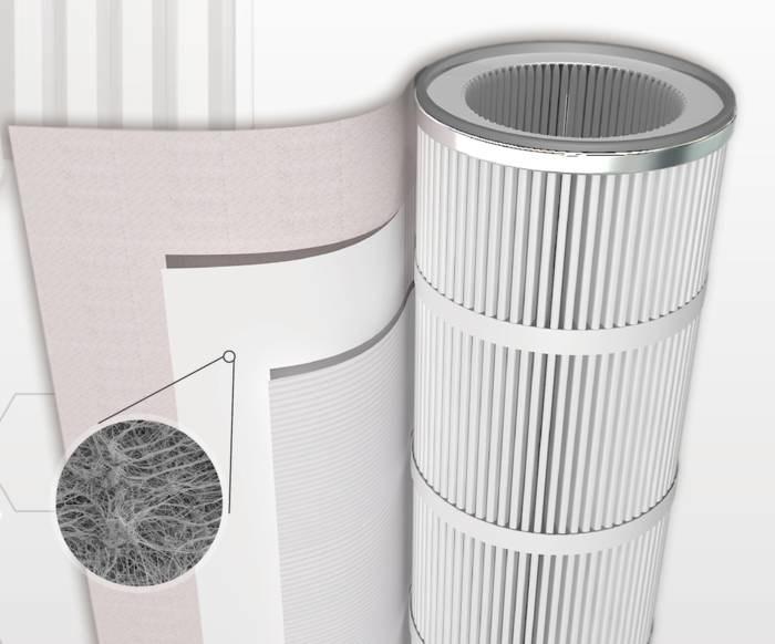 LOGO_E12 HEPA PTFE Media for Gas Turbine Industry