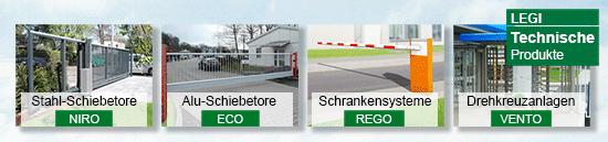 LOGO_LEGI Schiebetore, Schranksysteme, Drehkreuzanlagen