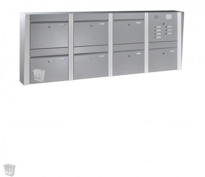 LOGO_Briefkastenanlagen geeignet zur Wand- oder Zaunmontage