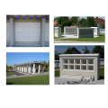LOGO_Urnenbauwerke - Ausführung: Natursteinverblendung und blauem Glas