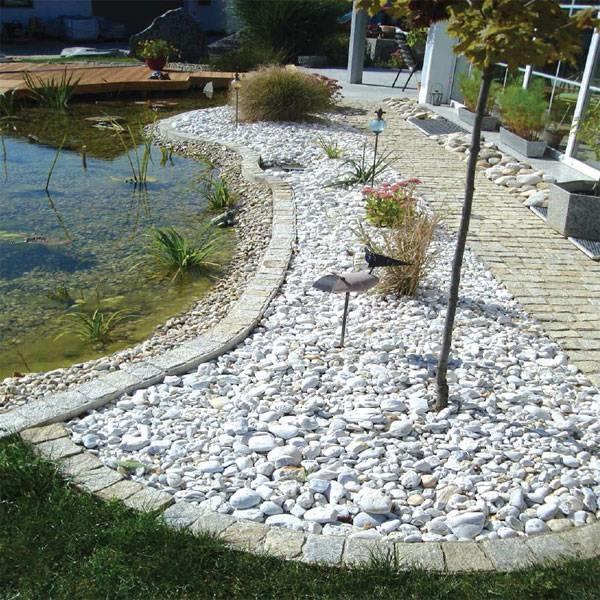 LOGO_Granitfertigelemente zum Verschönern des Gartens