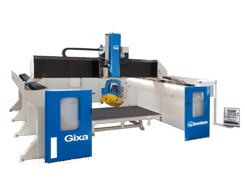 LOGO_CNC 5-axis bridge saw: GIXA
