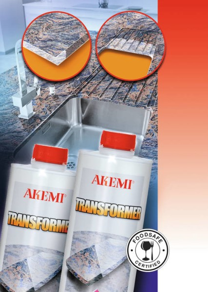 LOGO_TRANSFORMER – Ultra fast colour intensification on natural stone and Engineered Stone
