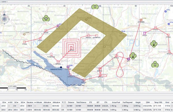 LOGO_HENSOLDT Tactical Mission Planning - OptaPlan