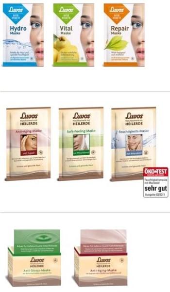 LOGO_Luvos Gesichtsmasken: Wellness mit Heilerde