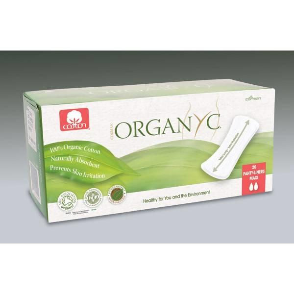 LOGO_Organyc Maxi Slipeinlagen