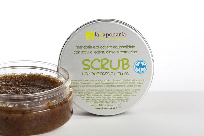 LOGO_Body Scrub with Lemongrass and Mint