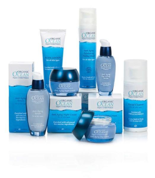 LOGO_Zertifizierte organische Produkte Angereichert mit hochentwickelten Bio-Marine Inhaltsstoffen