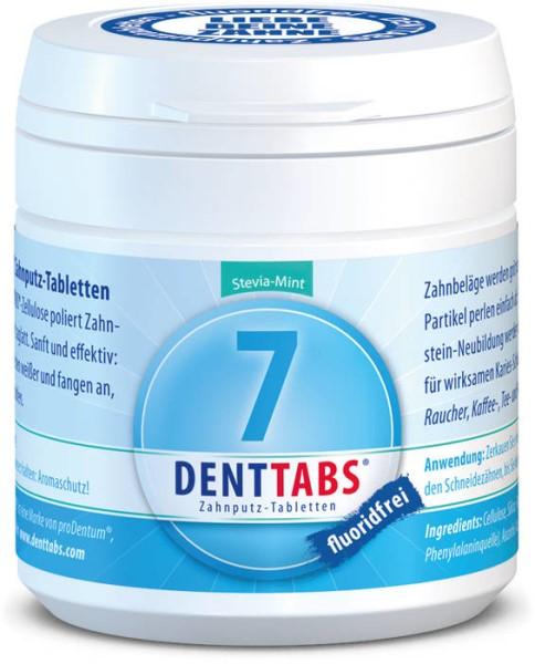 LOGO_DENTTABS-Zahnputztabletten fluoridfrei