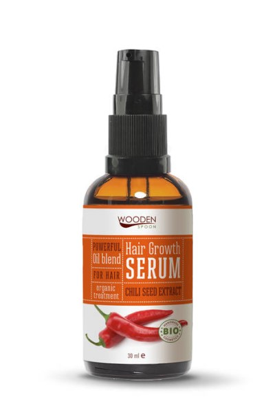 LOGO_Hair growth serum with Chili seed oil