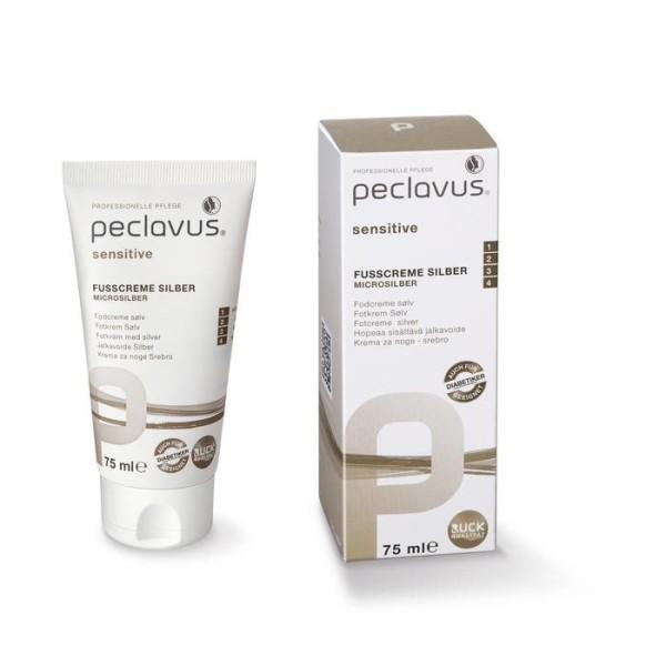 LOGO_peclavus® sensitive Silver Foot Cream