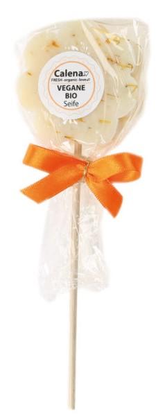 LOGO_Calena VEGANE BIO Seifen Lollipop Blume Ringelblume