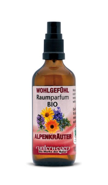 LOGO_WELL-BEING room fragrance organic ALPINE HERBS