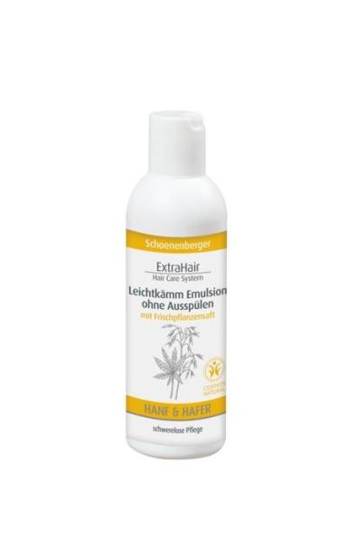 LOGO_Schoenenberger Naturkosmetik ExtraHair Hair Care System Leichtkämm Emulsion ohne ausspülen