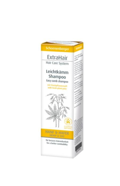 LOGO_Schoenenberger Naturkosmetik ExtraHair Hair care System Leichtkämm Shampoo