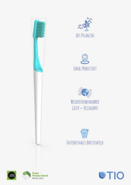 LOGO_TIO Toothbrush - plant based & replaceable head toothbrush