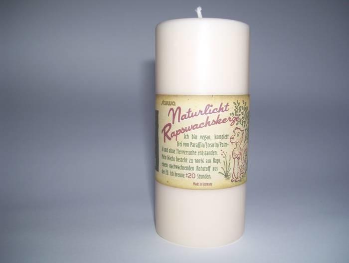 LOGO_Naturelight Rapeseedoil Candle 110mm Natur