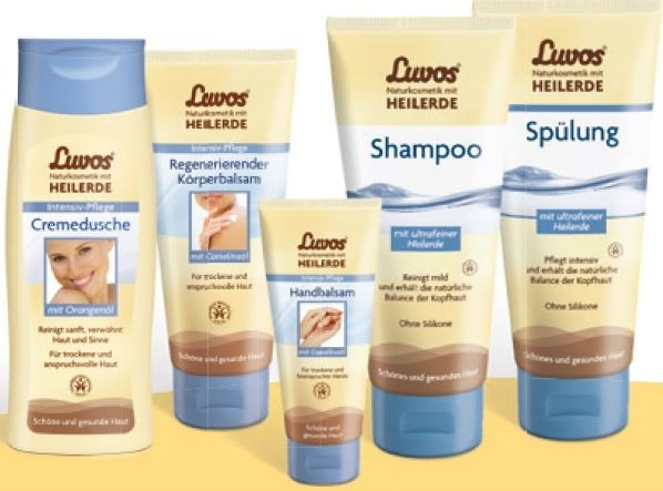 LOGO_Luvos body and hair care: For beautiful and healthy skin and hair