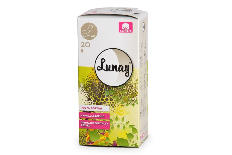 LOGO_LUNAY - 100 % COTTON SANITARY PADS – PANTYLINERS