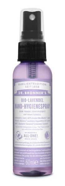 LOGO_Dr. Bronner's natürliches Fair Trade Hand-Hygienespray Lavendel
