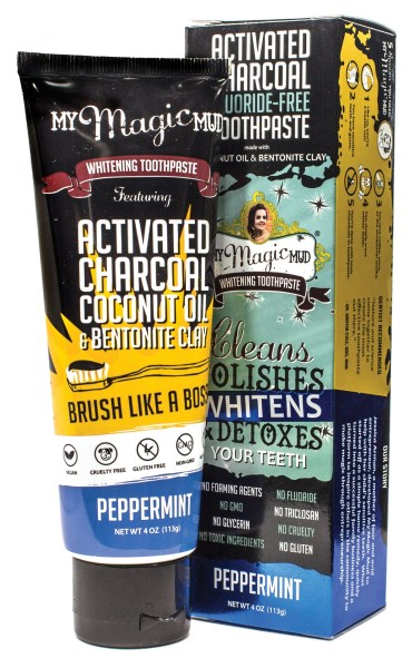 LOGO_Activated Charcoal Toothpaste - Peppermint