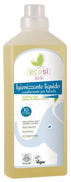 LOGO_Ecosì Liquid sanitizing for Baby's Laudry