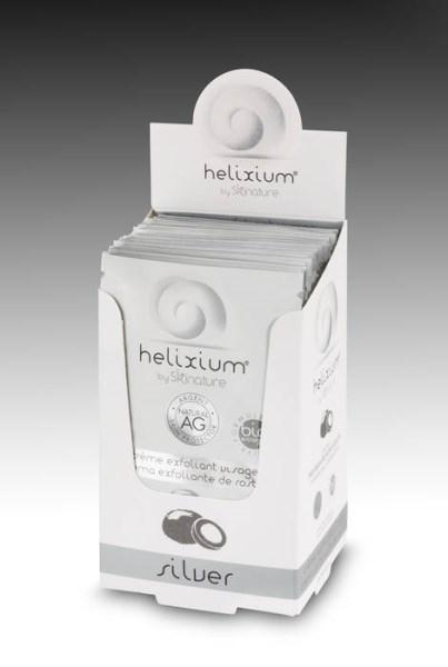 LOGO_HELIXIUM Silver exfoliating cream