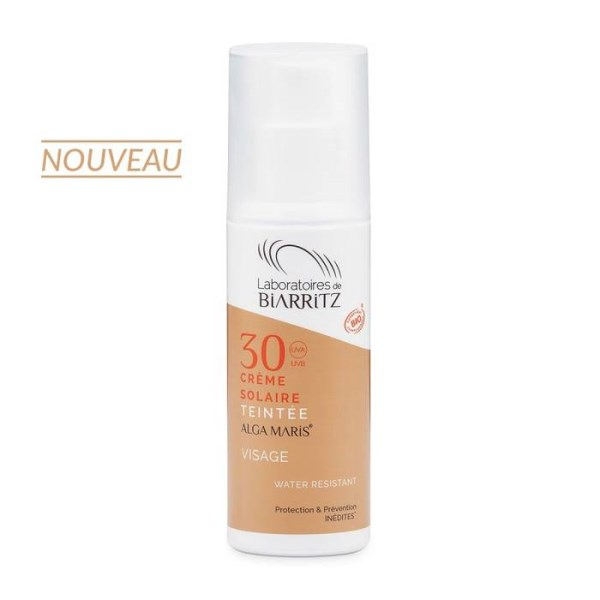 LOGO_ALGAMARIS Tainted Facial Cream Light SPF30