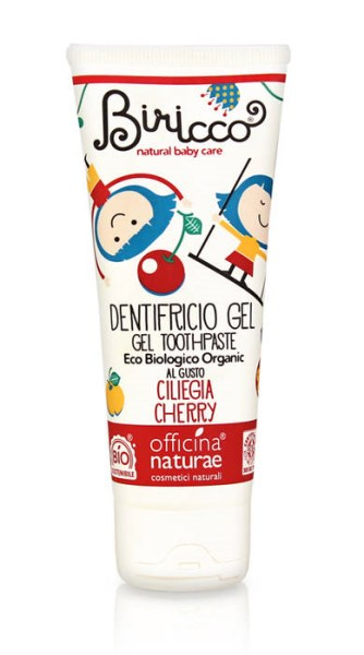 LOGO_Officina naturae Biricco-Kids cherry gel toothpaste