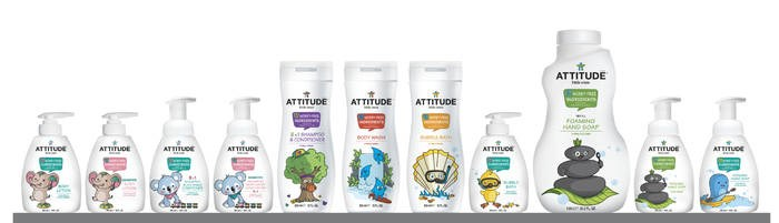 LOGO_ATTITUDE little ones body care