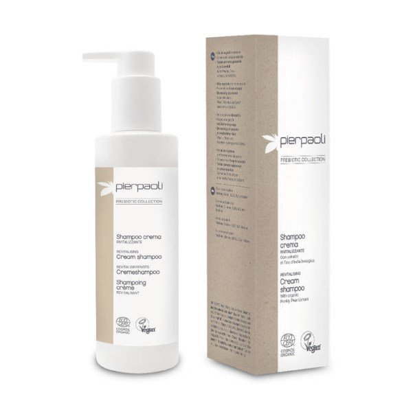LOGO_PIERPAOLI PREBIOTIC COLLECTION -  REVITALISING CREAM SHAMPOO