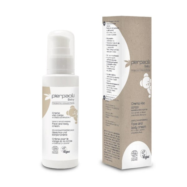 LOGO_PIERPAOLI BABY PREBIOTIC COLLECTION -  FACE AND BODY CREAM GENTLE MOISTURISING