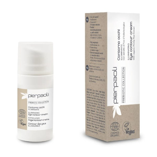 LOGO_PIERPAOLI PREBIOTIC COLLECTION - ILLUMINATING EYE CONTOUR CREAM