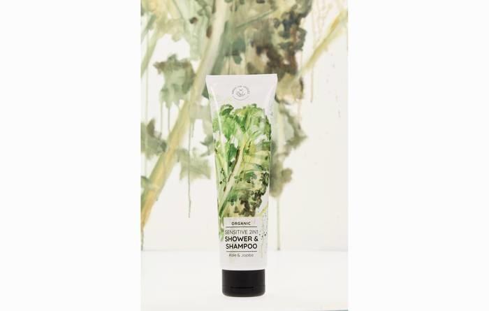 LOGO_Hands on Veggies: Bio 2in1 Sensitive Shower & Shampoo Kale & Jojoba