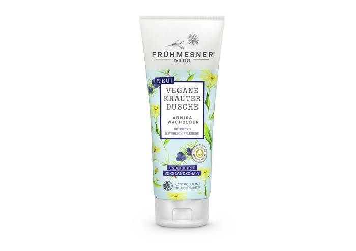 LOGO_Frühmesner Vegan Herbal Shower Arnica Juniper