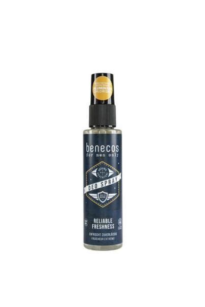 LOGO_benecos for men only - Organic Adventure Deo Spray