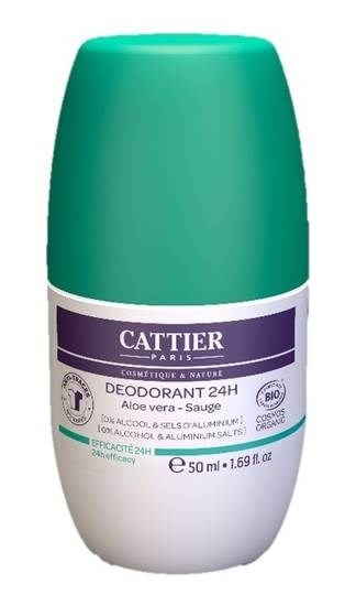 LOGO_Cattier Deodorant 24 h Roll-On 50ml