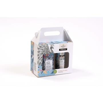 LOGO_Gift box  Rice & Coconut - body wash +body cream
