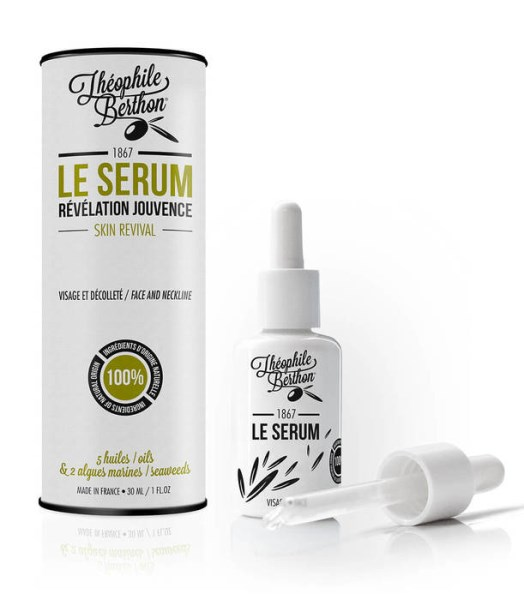 LOGO_THE SERUM WITH 5 OILS AND 2 SEAWEEDS – FACE SKIN REVIVAL