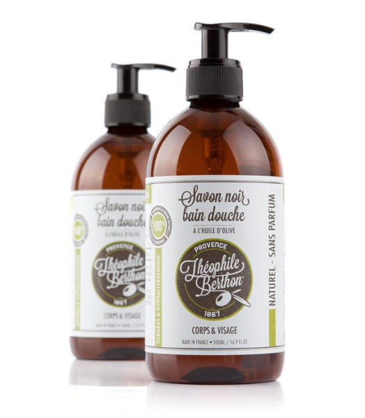 LOGO_SAVON NOIR ET DE PROVENCE - FACE AND BODY LIQUID SOAP WITH OLIVE OIL