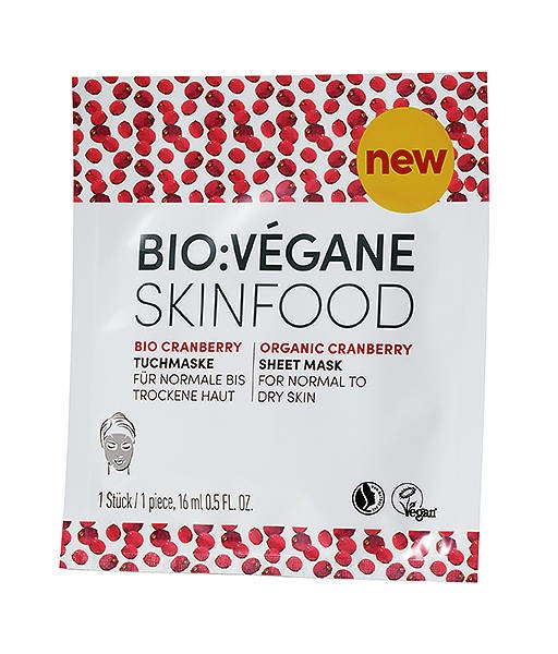 LOGO_ORGANIC CRANBERRY SHEET MASK