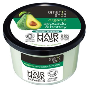LOGO_Organic Avocado & Honey repairing Mask