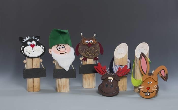 LOGO_Wechselköpfe für Holzstamm-Figuren