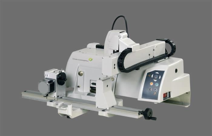 LOGO_M40: Graviermaschine zum Gravieren von Schildern aus Kunststoff und Metall