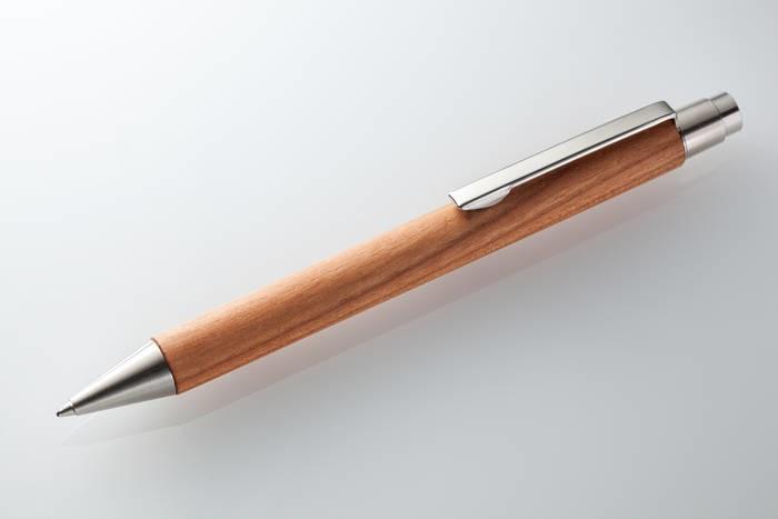 LOGO_Kugelschreiber 10 mm Kirsche geölt