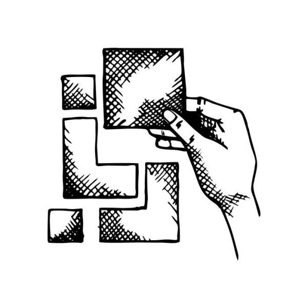 LOGO_Zusammensetzung, Verpackung