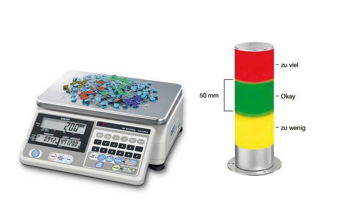 LOGO_Hochleistungs-Zählwaagensystem Multi mit Ampel/Signalleuchte