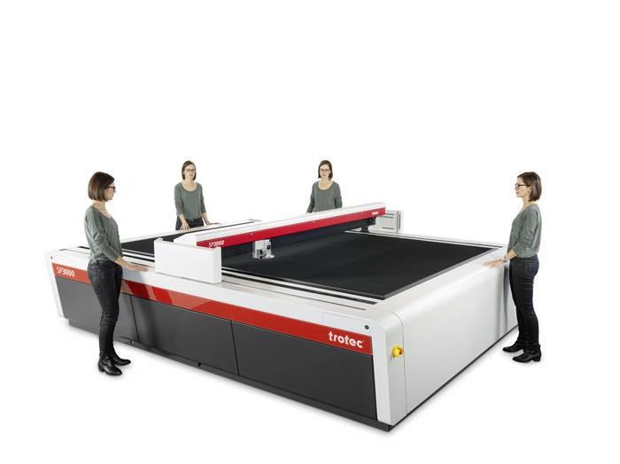 LOGO_Großformatiges Laser der SP Serie